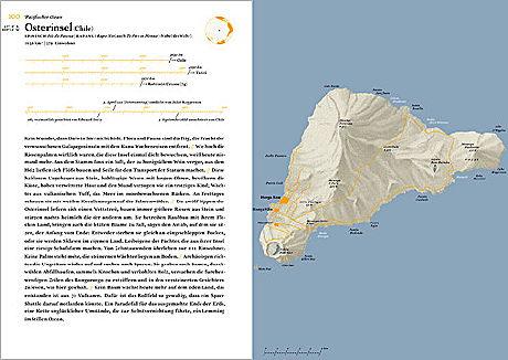 Doppelseite - Atlas der abgelegenen Inseln