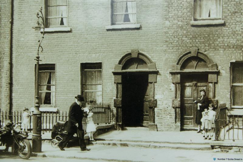 7 Eccles Street - ca. 1956