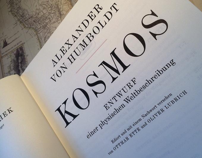 Humboldt - Kosmos (Titelblatt)