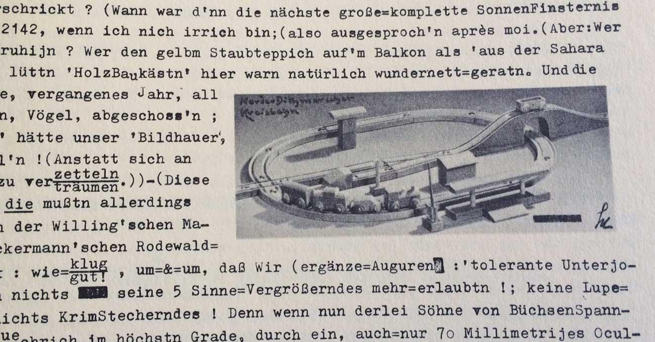 Die Tellingstedter Kreisbahn - rekonstruiert von A. Schmidt