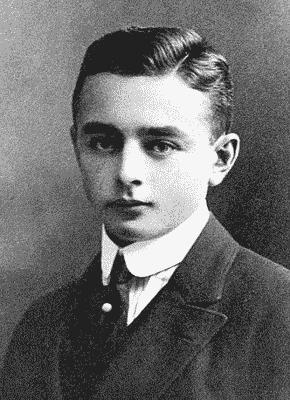 Georg Heym (um 1900)