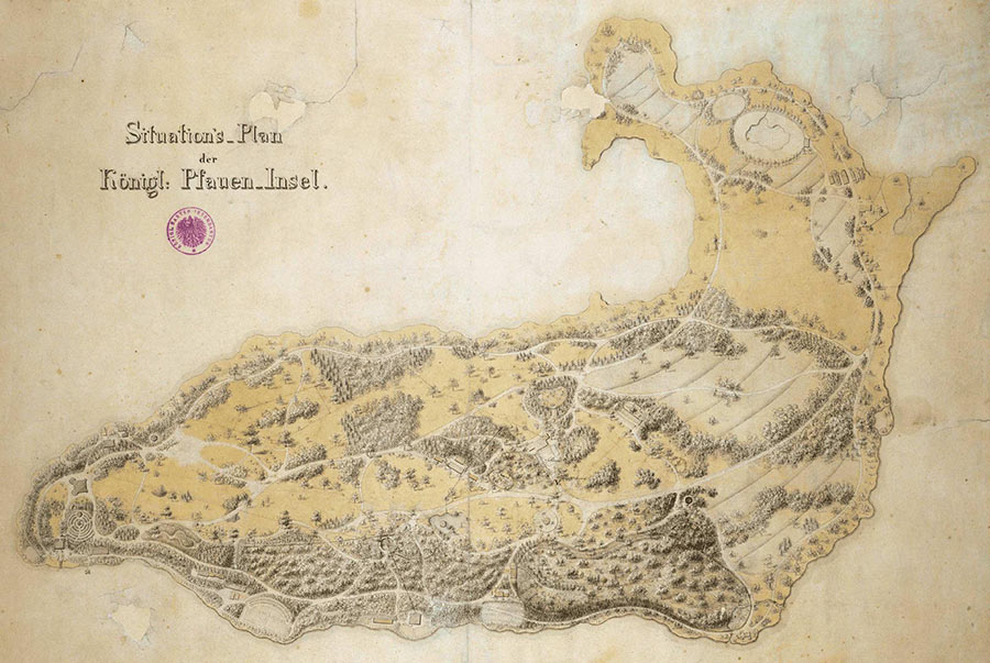 Hettche - Die Pfaueninsel