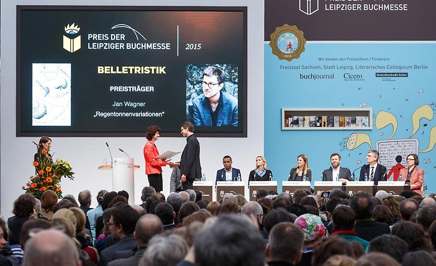 Buchmesse Leipzig preisverleihung