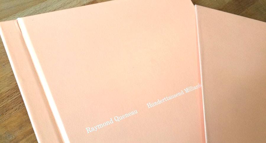 Queneau - Hunderttausend Milliarden Gedichte