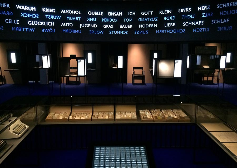 Arno Schmidt - eine Ausstellung in 100 Stationen