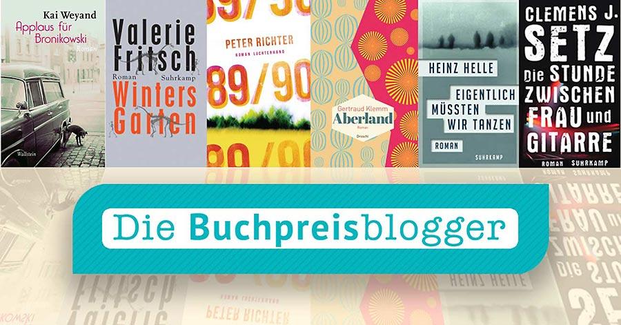 Die Shortlist der Buchpreisblogger