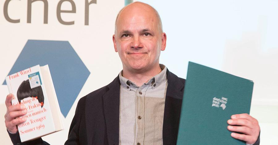 Frank Witzel - Deutscher Buchpreis