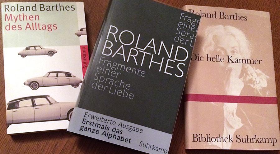 Werke von Roland Barthes