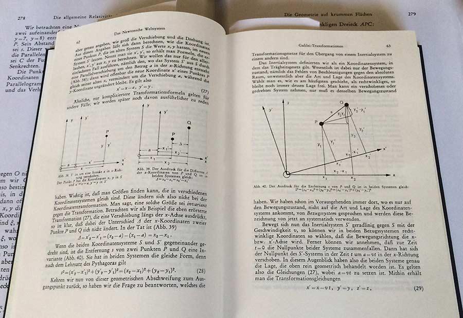 Born - Einsteins Relativitätstheorie
