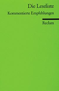 Die Leseliste - Reclam