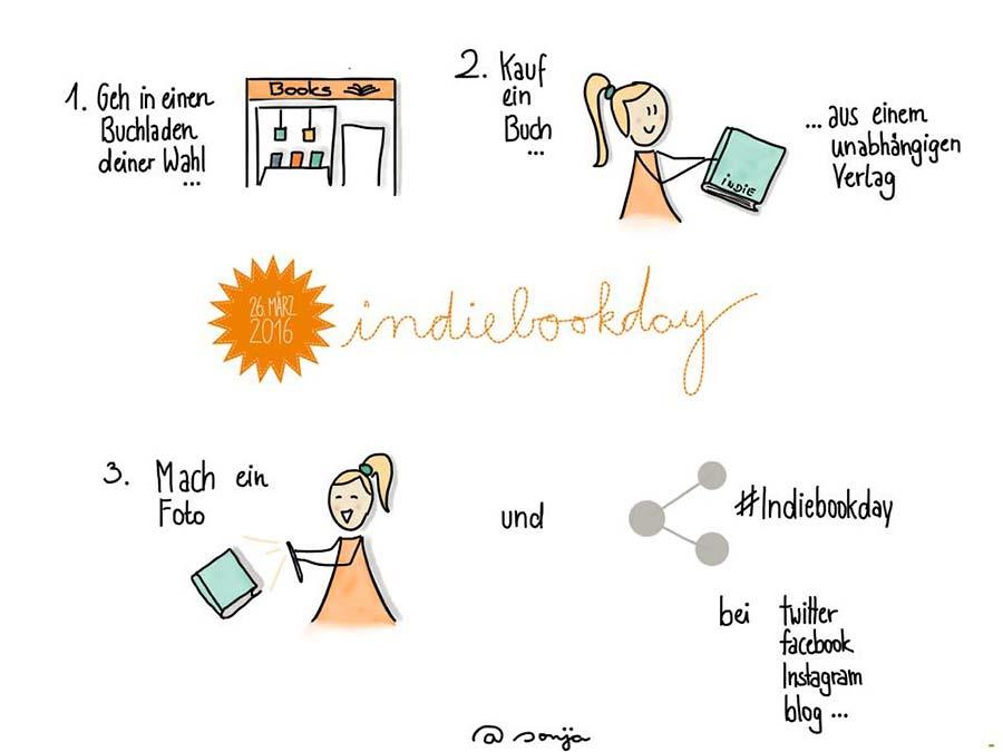 Indiebookday by Sonja Graus