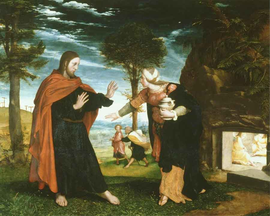Holbein - Noli me tangere