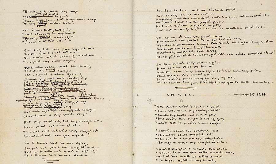 Die Gondal Gedichte