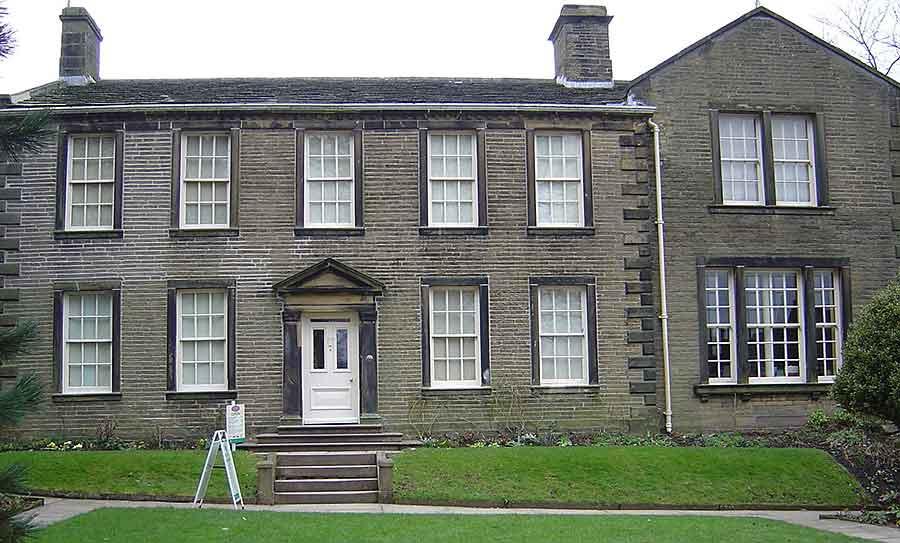 Pfarrhaus in Haworth
