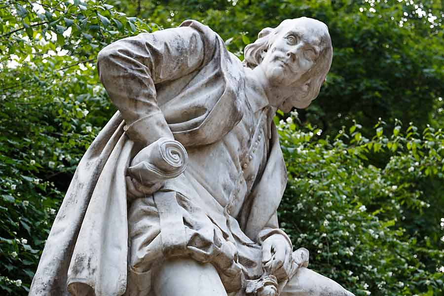 Shakespeare-Statue in Weimar