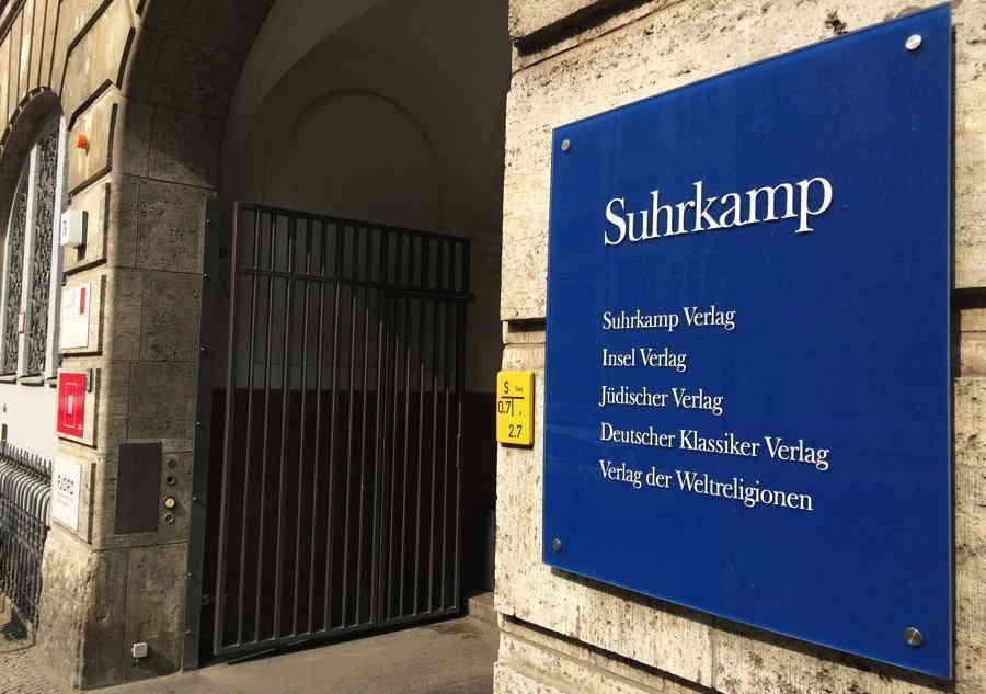 Suhrkamp Verlag - Eingang