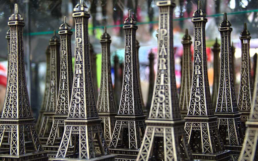 Der Eiffelturm - Ubiquitäres Symbol