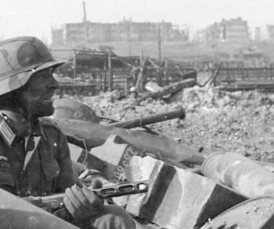 Deutscher Soldat in Stalingrad 1942