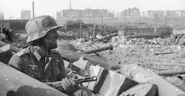 Deutscher Soldat in Stalingrad 1942
