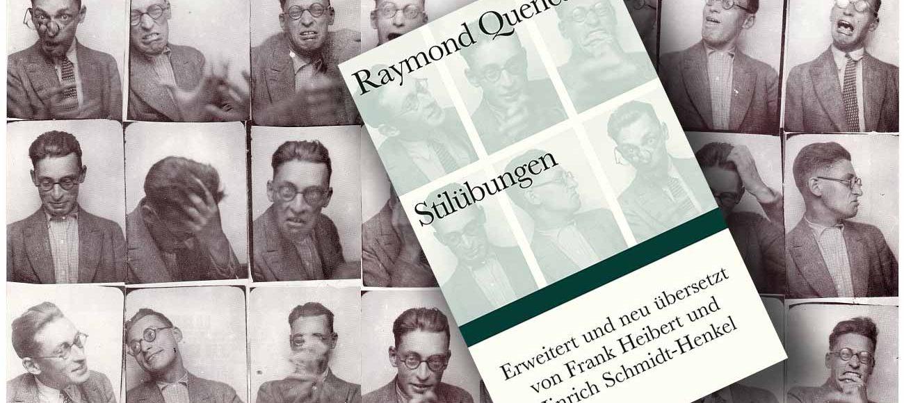 Ein Mann mit Hut und fehlendem Knopf – »Stilübungen« von Raymond Queneau
