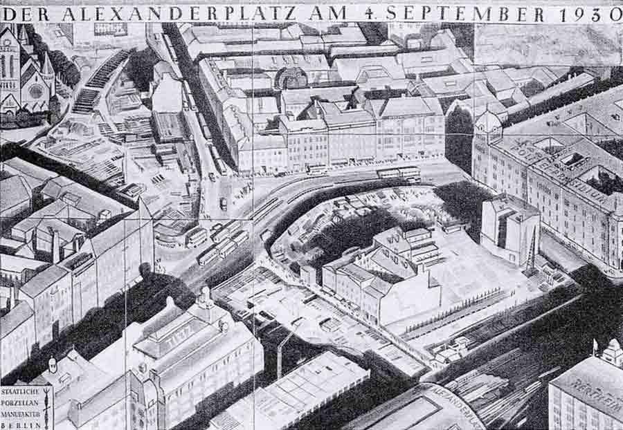 Der Alexanderplatz um 1930