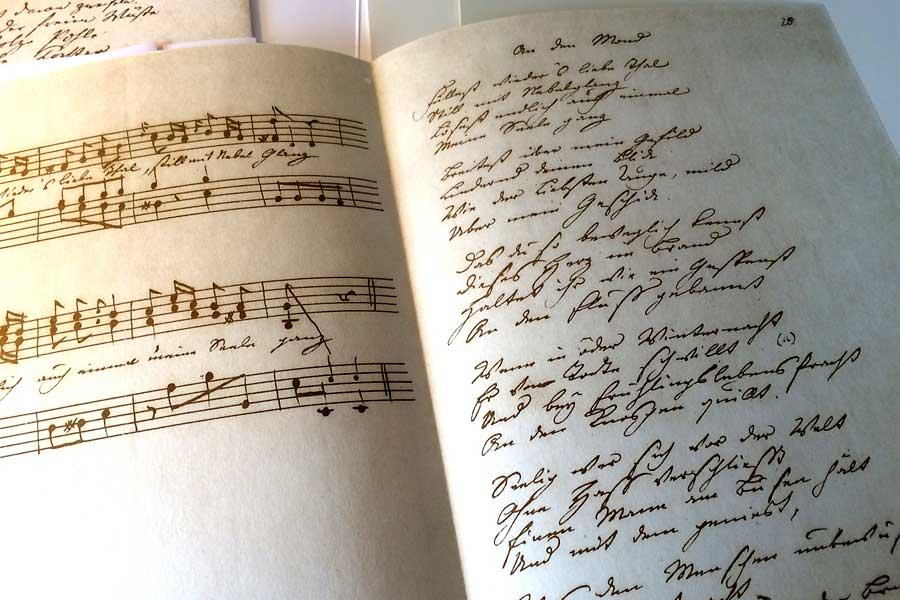 An den Mond - Goethe