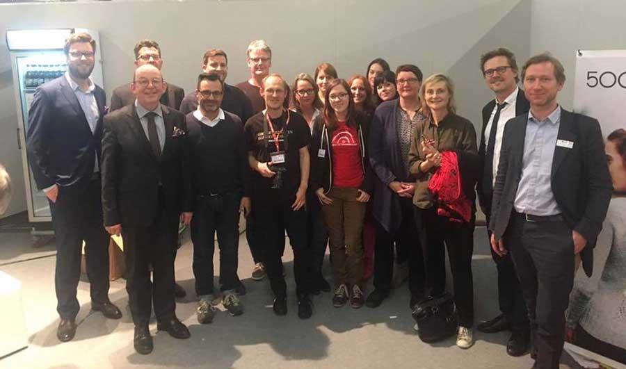 Blogbuster-Preis Team