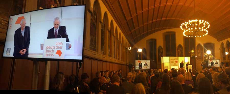 Buchpreis - Verleihung