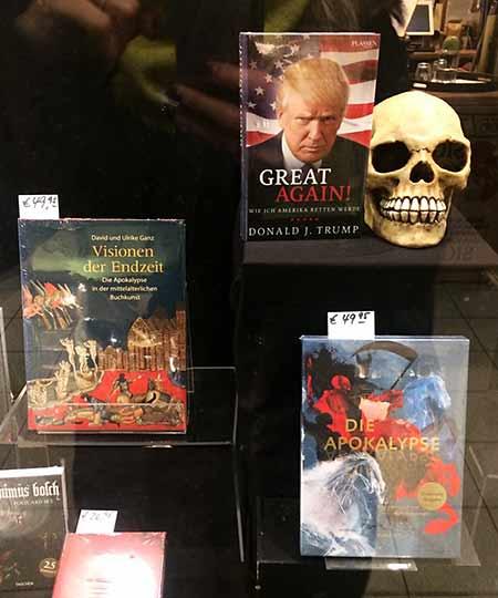 Schaufenster einer Buchhandlung