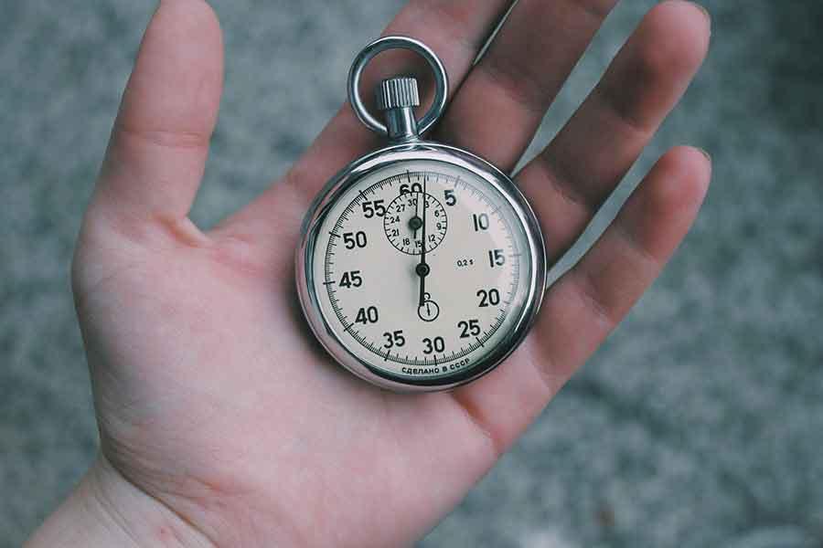 Eine handvoll Sekunden