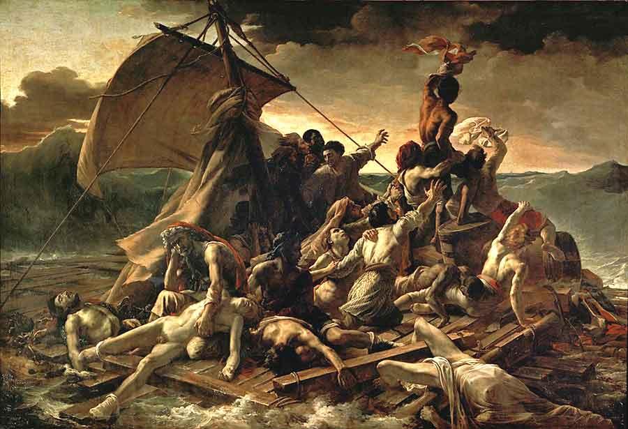 Géricault - Das Floß der Medusa
