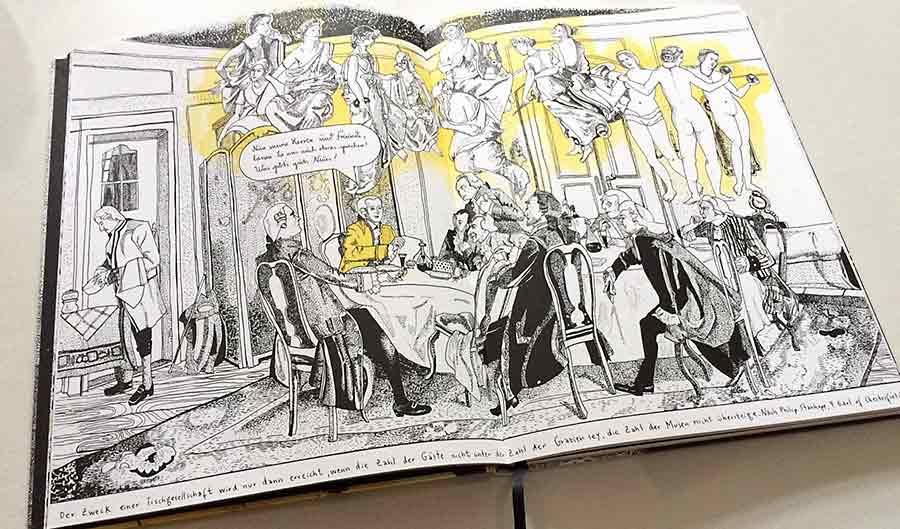 Antje Herzog - Lampe und sein Meister Immanuel Kant
