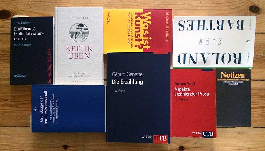 Buchauswahl zur Literaturtheorie