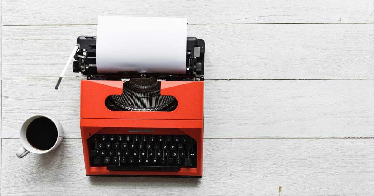 Blogpause - Das Blatt bleibt weiß