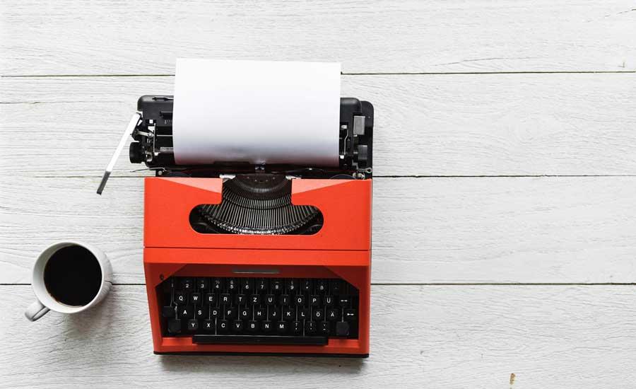 Blogpause - Das Blatt belibt weiß