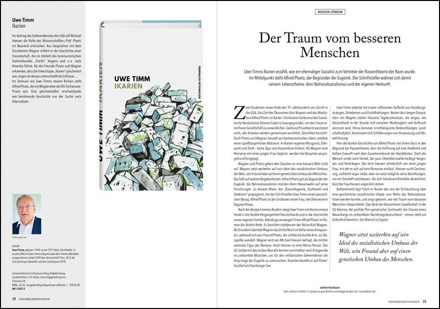 Büchergilde Magazin 3-2018 - Ausriss