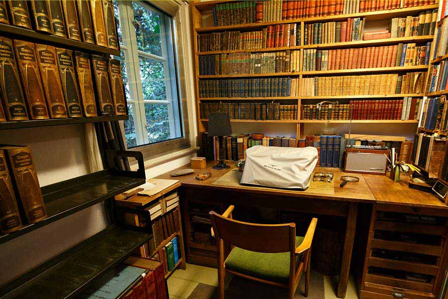 Arno Schmidts Schreibtisch